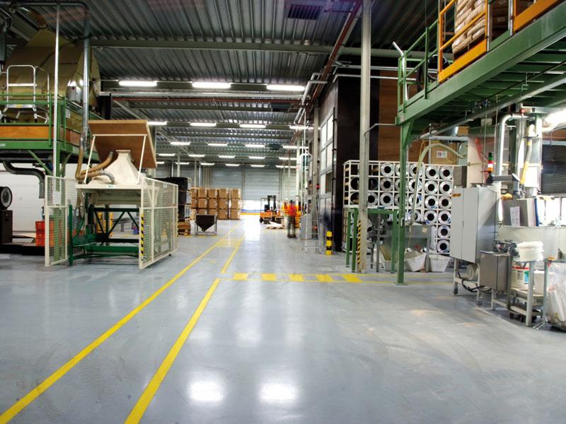 Garage vloercoating gietvloer leiden